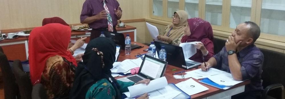 """Workshop """"Bimbingan Teknis Penyusunan Sasaran Kinerja Pegawai (SKP) dan Penilaian Prestasi Kerja Guru"""""""