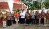 peletakan batu pertama Akademi Komunitas Industri Tekstil dan Produk Tekstil Surakarta