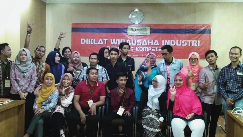 [INFO] Diklat Wirausaha Industri Berbasis Kompetensi TA 2018 (Tahun ke-4)